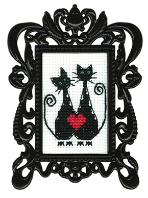 "Stickpackung RTO Framed Art ""Cats Love"""