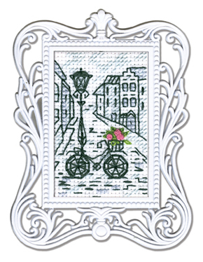 "Stickpackung RTO Framed Art ""Bycicle"""