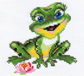 Kreuzstich-Set Alisa Beautiful Frog