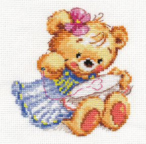 KreuzstichSet Alisa I love to embroider
